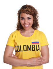 Young woman from Colombia with crossed arms