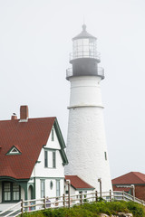 Lighthouse and Tile Roof
