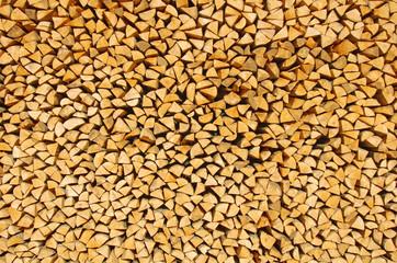 bûches de bois emplilées