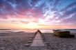Stille und Einsamkeit am Strand