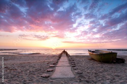 Stille und Einsamkeit am Strand © Jenny Sturm