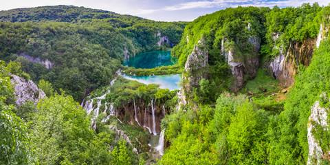 Panorama Plitvicer Lakes NP,  Croatia