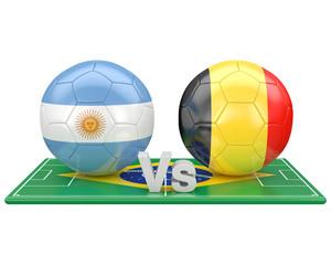 1/4 de finale, coupe du monde 2014