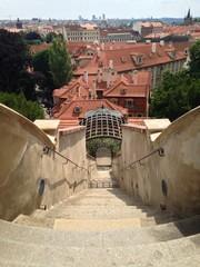 Prague castle garden