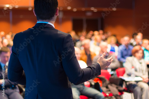 Speaker at Business Conference and Presentation. - 66825233