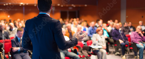 Speaker at Business Conference and Presentation. - 66825250