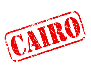 CAIRO red stamp text