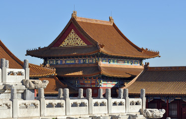 Beijing. Forbidden city.