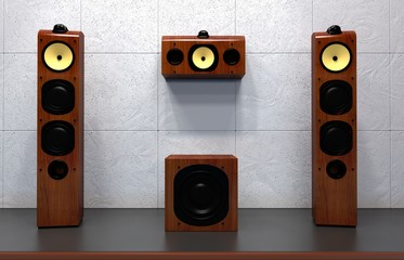 home multimedia speakers
