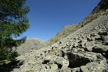 Vallée du champoléon,Alpes