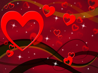 Background Red Means Valentine's Day And Backdrop
