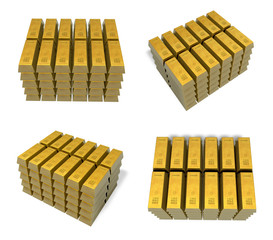 3D Bullion vaults icon. 3D Icon Design Series.