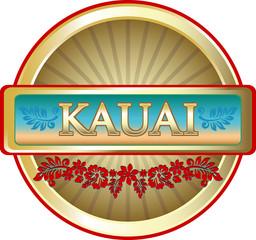 Kauai Island Advertising Emblem