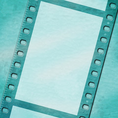 Copyspace Filmstrip Means Photographic Blank And Border