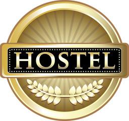 Hostel Advertising Emblem