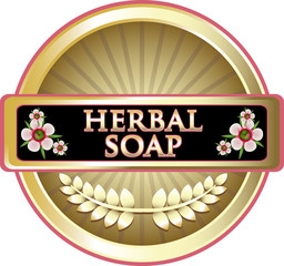 Herbal Soap Black Label