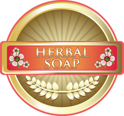 Herbal Soap Pink Label