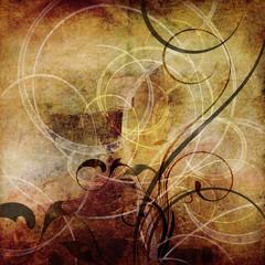 abstrakt alt dekoration