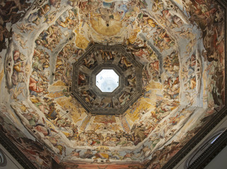 Florence, Italy, The Judgment Day inside the Dome