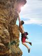 Climber climbing - 66838480