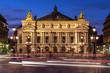 Leinwanddruck Bild - opéra Garnier, Paris