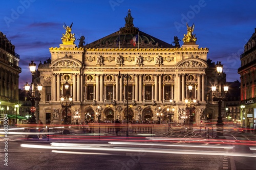 Foto op Canvas Theater opéra Garnier, Paris