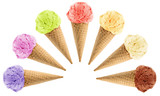 Ice Cream cones - 66840211