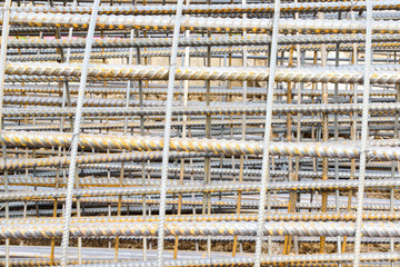 Reinforcing Steel Bars Used in Construction