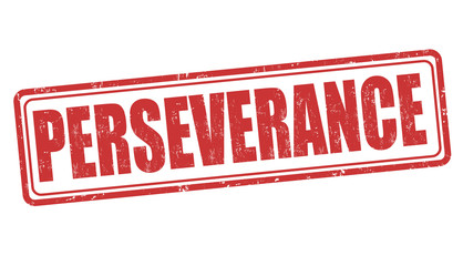 Perseverance stamp
