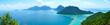 Leinwanddruck Bild - bohey dulang landscape