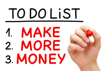 Make More Money To Do List