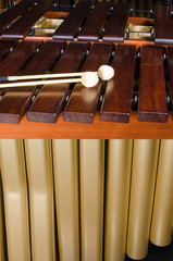 Marimba  keys and resonators
