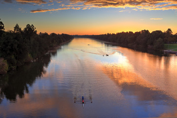 Sunrise Nepean River Penrith