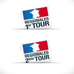 Elections régionales 2015 - 1er et 2ème tours