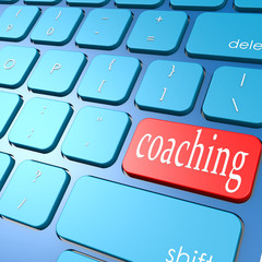 Coaching keyboard