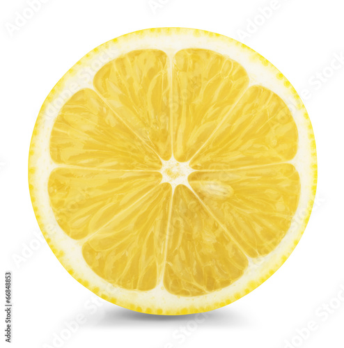 Fotobehang Keuken lemon slice