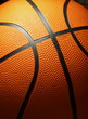The basketball closeup