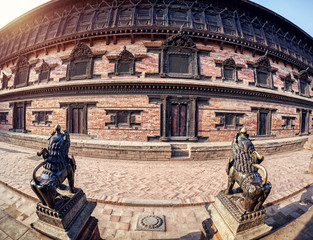 Palace on Durbar square in Bhaktapur