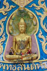 Buddha in Wat Phra Yai, Koh Samui.