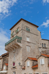 Vitturi Tower (XV c.). Trogir, Croatia. UNESCO site