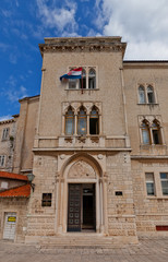 Palace of Justice (XV c.). Trogir, Croatia. UNESCO site