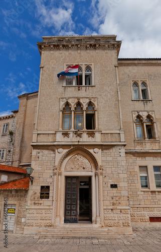Palace of Justice (XV c.). Trogir, Croatia. UNESCO site - 66850463