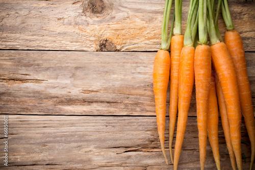 Canvas Groenten Carrots.