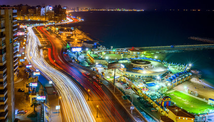 Alexandria at Night