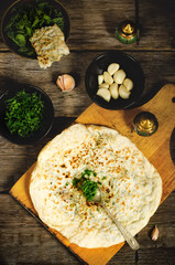 arabian bread with herbs