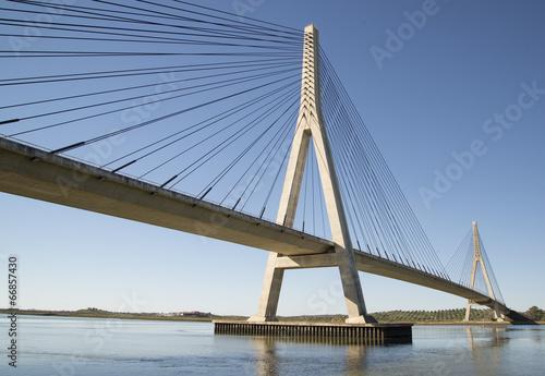 Plexiglas Brug puente