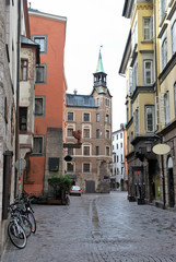 Townscape of Innsbruck