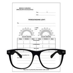 Prescrizione oculistica - ricetta oculistica