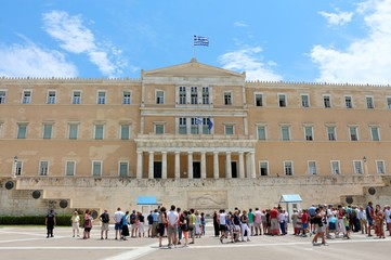 The Hellenic Parliament, Athens, Greece