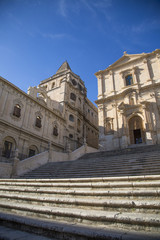 San Francesco Church in Noto, Sicily, Italy